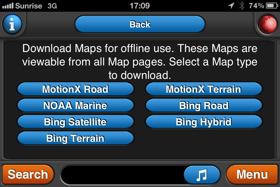 What app to cache or download satellite maps | Expedition Portal