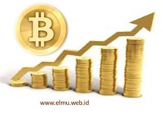 Blog Bang Elmu : Harga Bitcoin Melonjak Tajam www.elmu.web.id