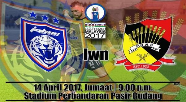 Live Streaming JDT 2 vs Negeri Sembilan 14.4.2017 Liga Perdana