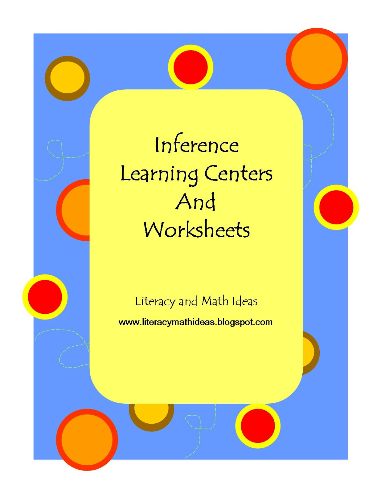 Simply Centers Inference Task Cards Learning Centers