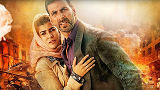 Akshay Kumar in Airlift Poster