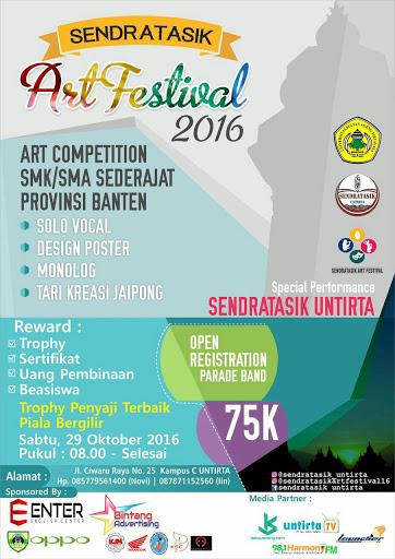 SENDRATASIK Art Festival 2016