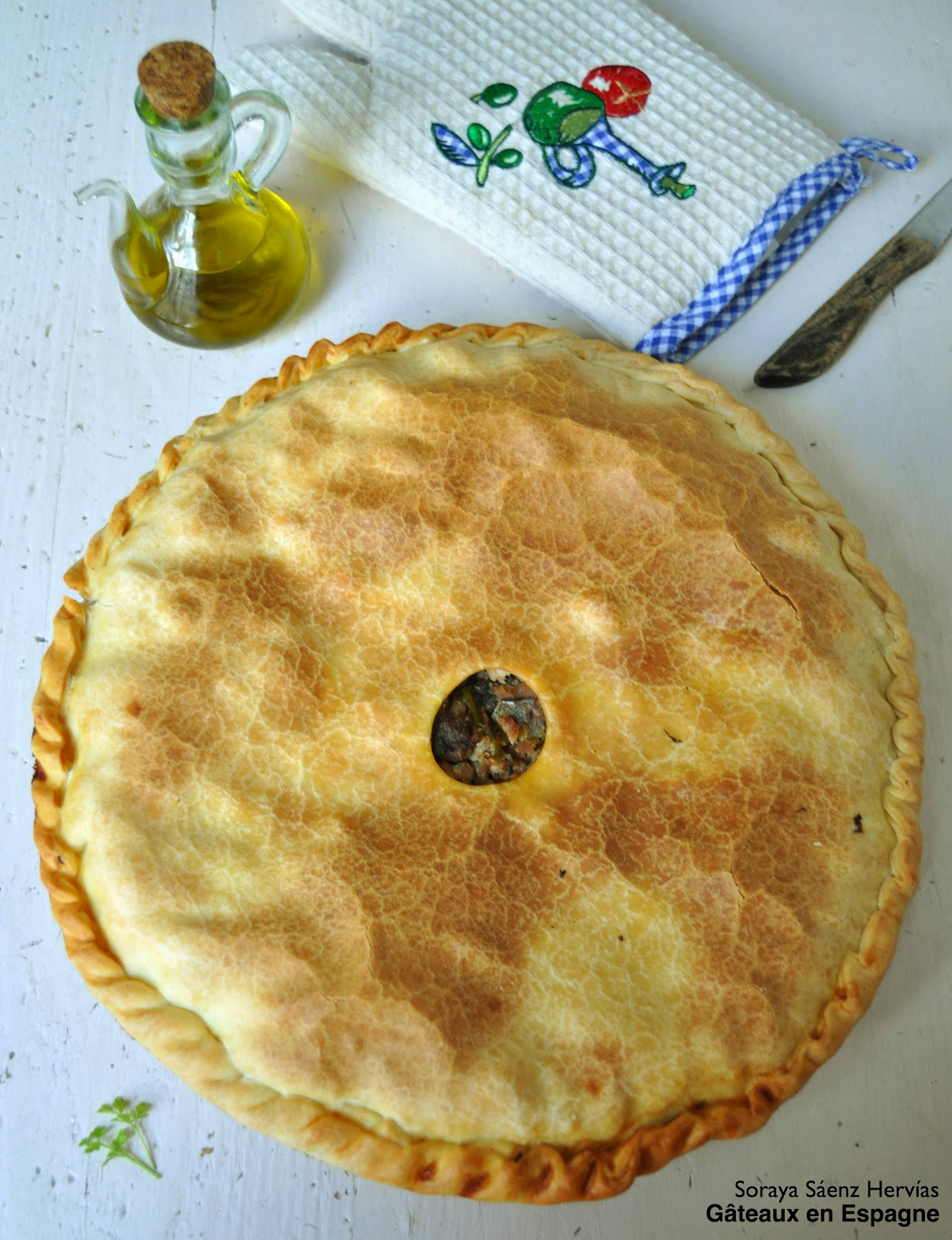 recette chausson sale viande thon empanada