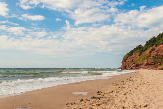 Basin Head Beach di Prince Edward Island, Kanada