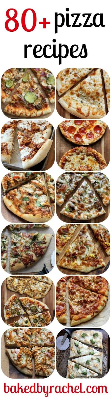 80 homemade pizza recipes
