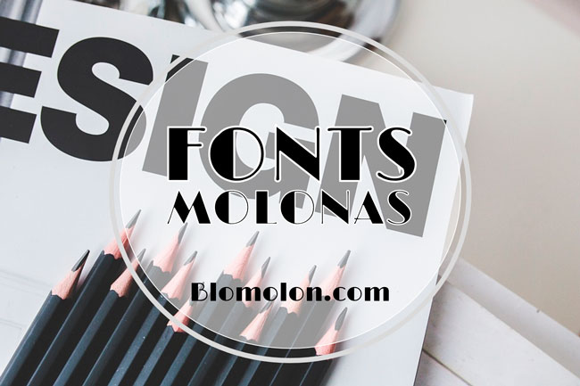 fonts molonas