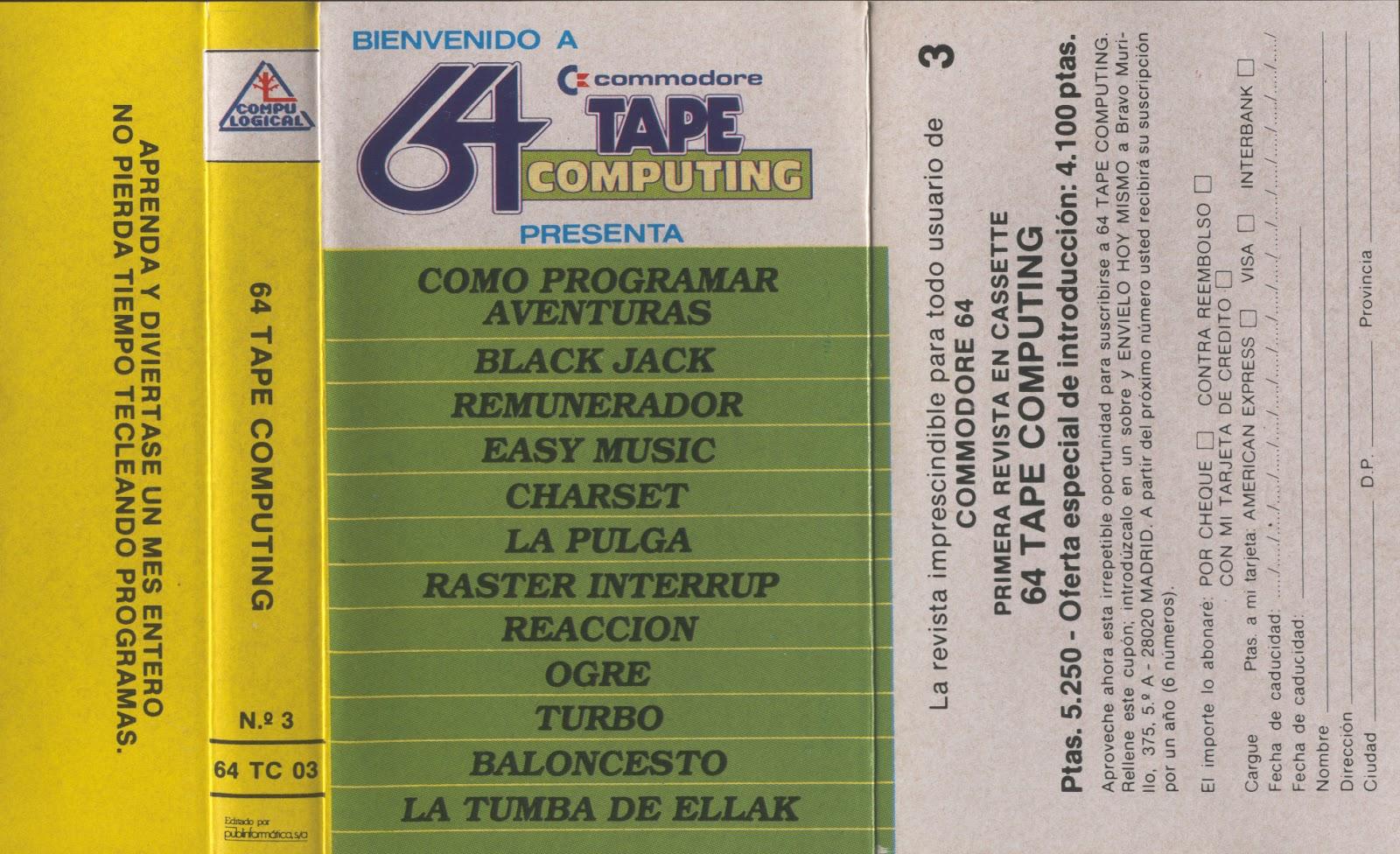 64 Tape Computing