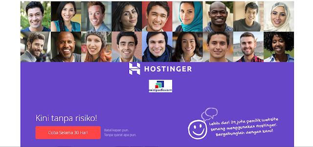 Web Hosting Indonesia Murah Terbaik Unlimited dan Domain Gratis Hanya Di Hostinger