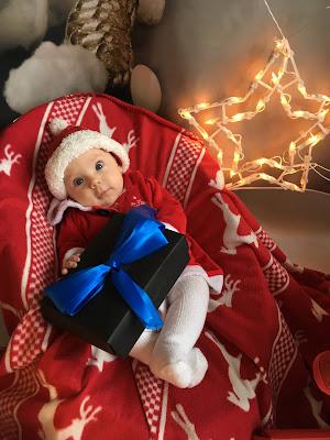 świąteczna sesja zdjęciowa dla dzieci