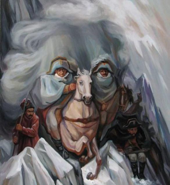 Cavalos - Oleg Shuplyak - Incríveis ilusões