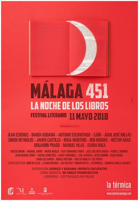 Noche de los libros Málaga