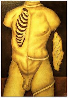 Loide Schwambach - Série Corpos - Tórax Aberto