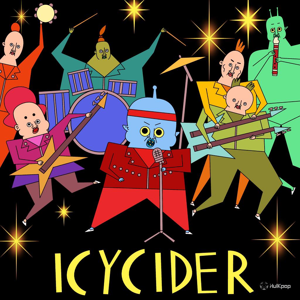 [Single] Icycider – 수상한 콜라보 Part 1 (전학생은 외계인)