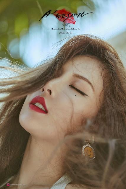2 Kim Hyun Ah - A'Wesome Photobook BTS Pics - very cute asian girl-girlcute4u.blogspot.com