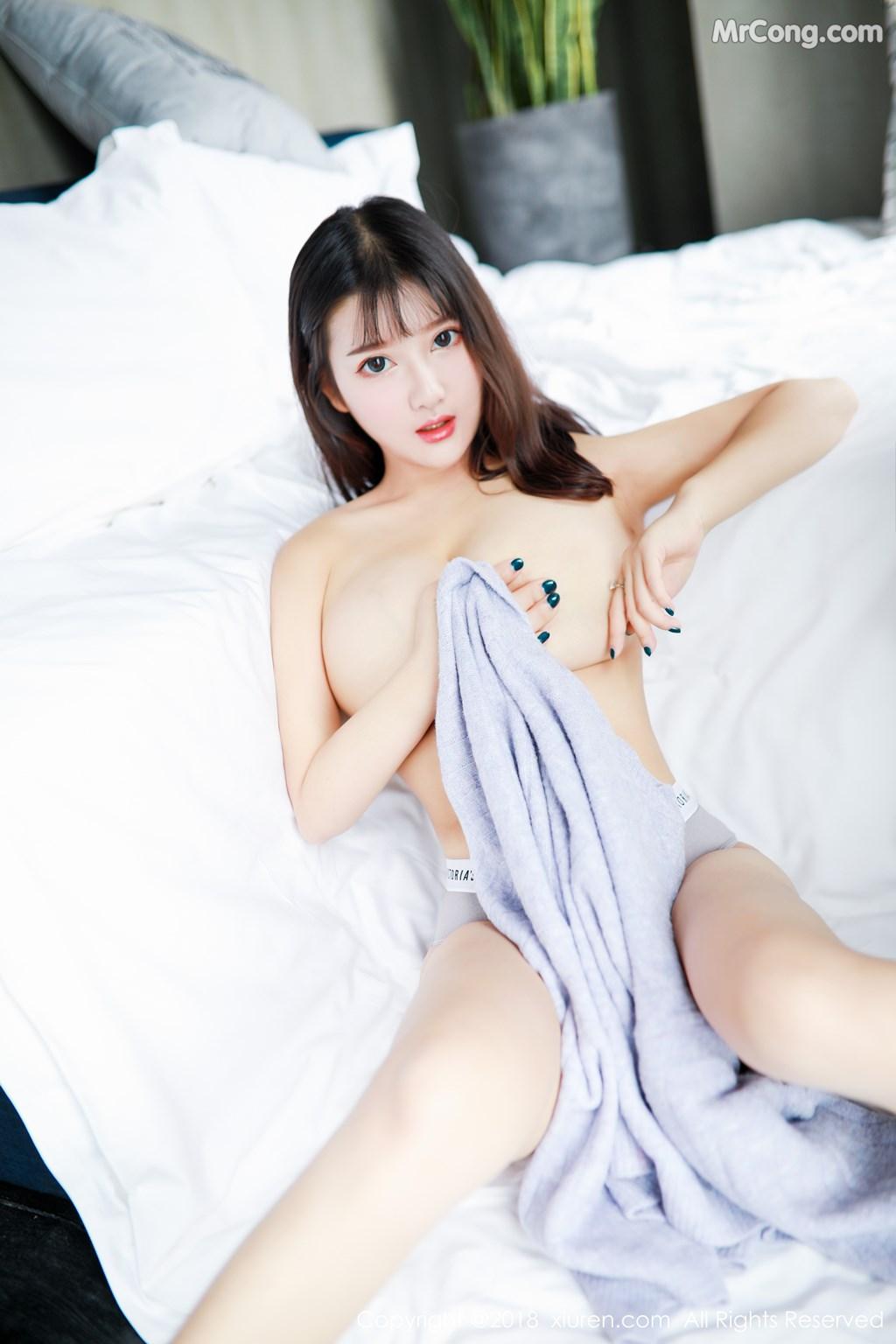 Image XIUREN-No.1274-Xiao-You-Nai-MrCong.com-008 in post XIUREN No.1274: Người mẫu Xiao You Nai (小尤奈) (42 ảnh)