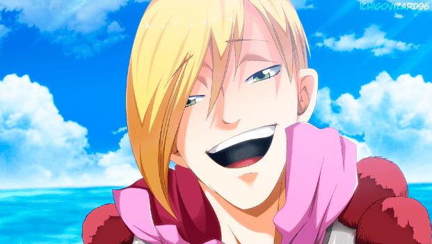 Neinhart - Anggota Spriggan 12 di Anime Fairy Tail