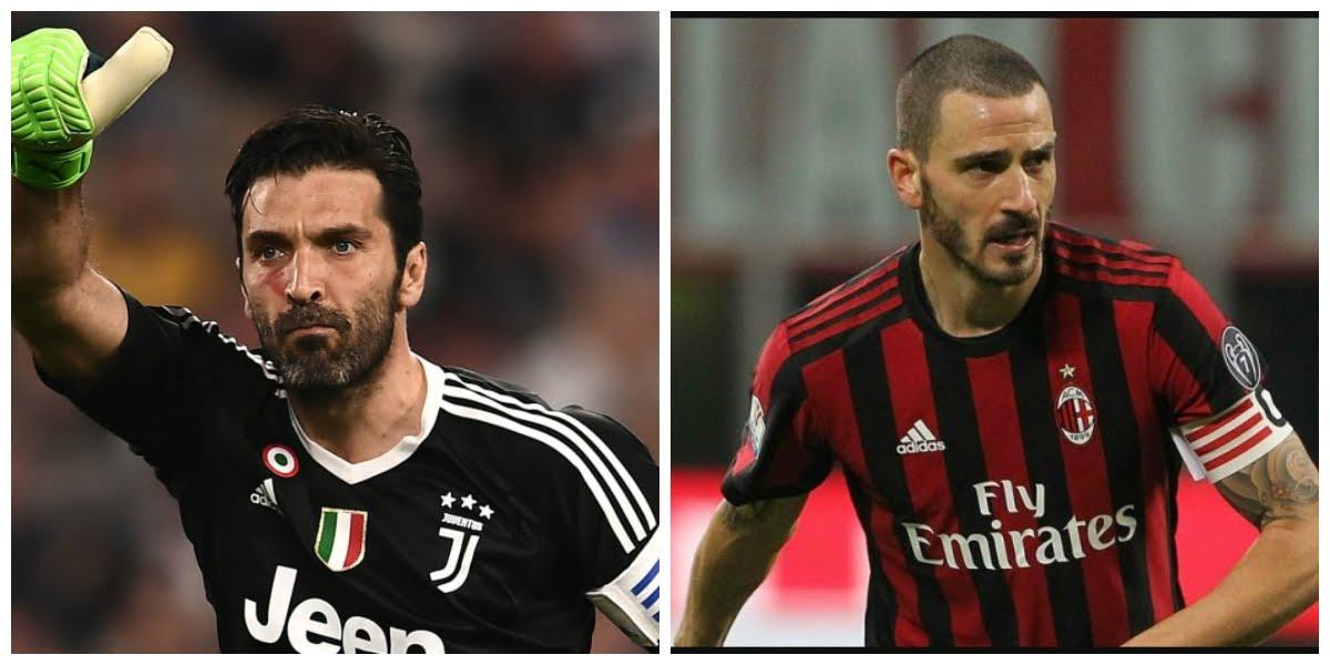 Juventus Milan: Buffon e Bonucci presentano la finale di Coppa Italia 2018