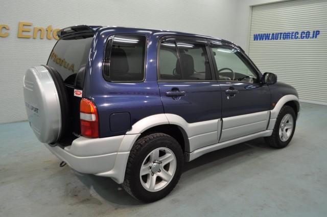 2002 Suzuki Escudo 4wd Japanese Vehicles To The World