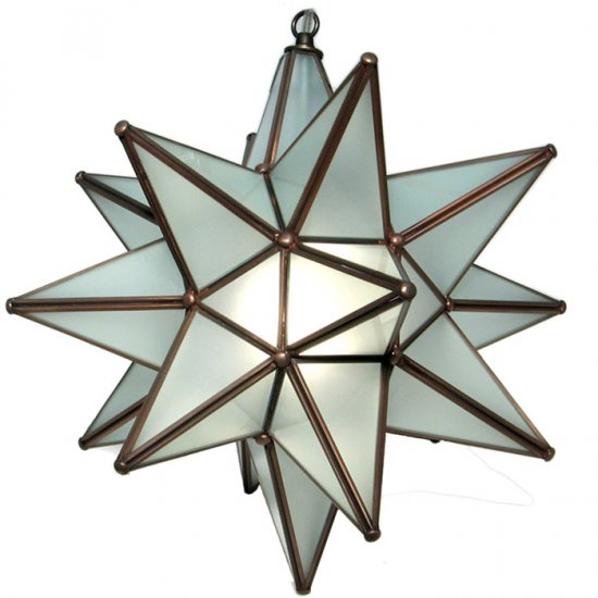 Nice & Unique Moravian Star light fixtures For Your Home ...