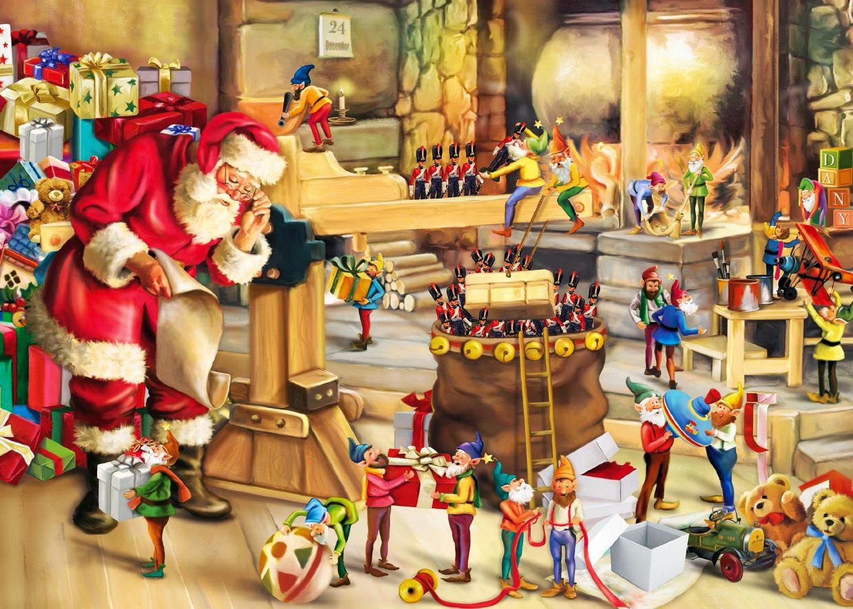 Risultati immagini per santa claus elves