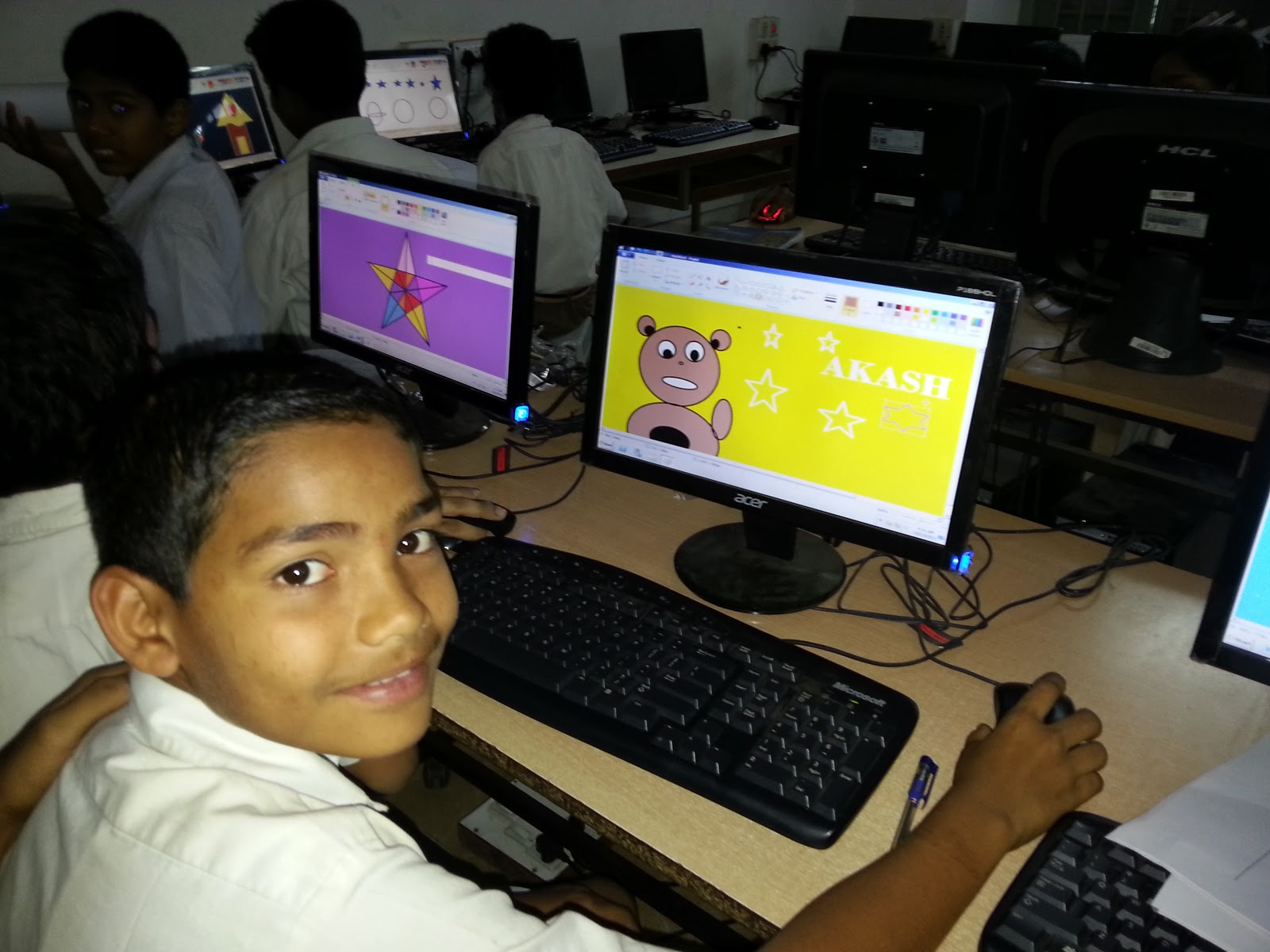 Project No 10 Computer Teaching Activity At Mes Bhave