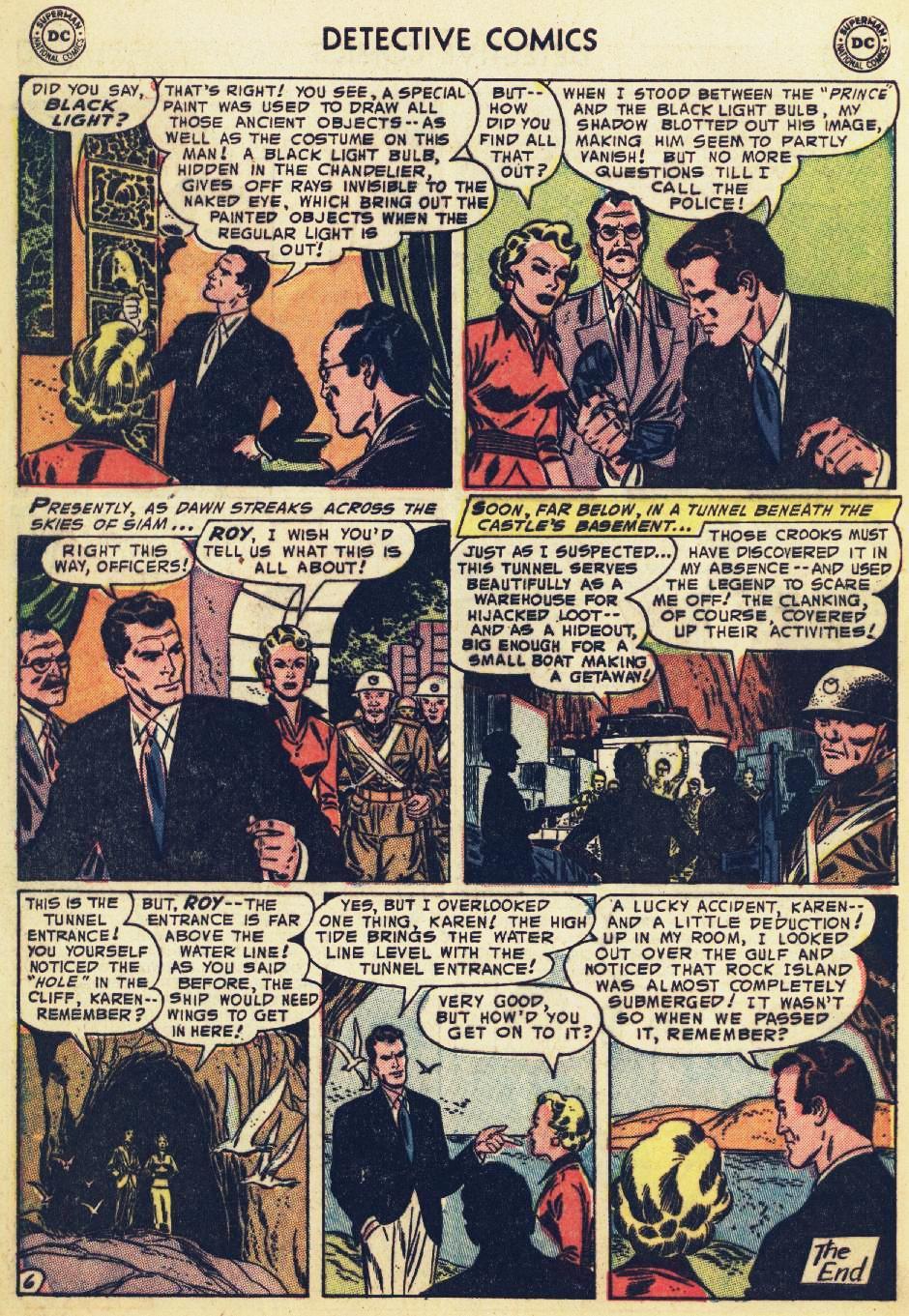Read online Detective Comics (1937) comic -  Issue #215 - 32