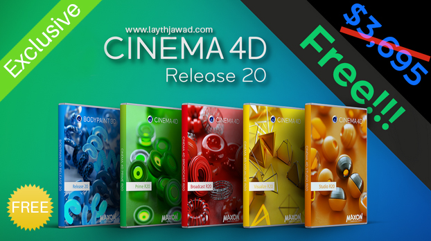 Cinema 4D R20 Free Download with Activation