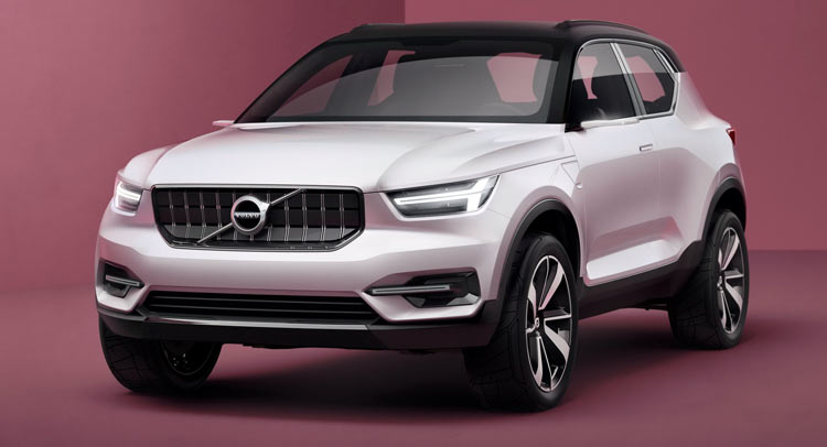 Volvo XC40 previewed alongside jacked-up S40 sedan concept