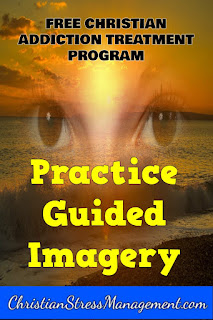 Guided imagery for addiction treatment