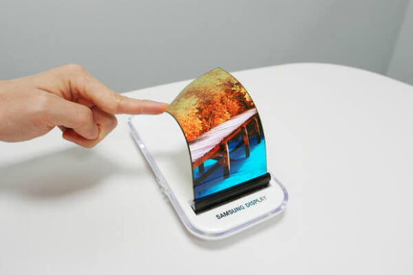 The foldable Samsung Galaxy X appeared!