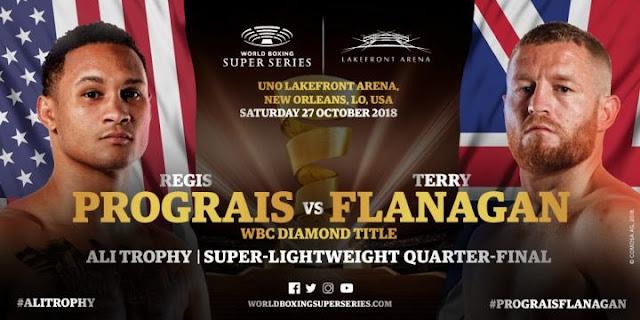 WBSS Results : Regis Prograis vs. Terry Flanagan