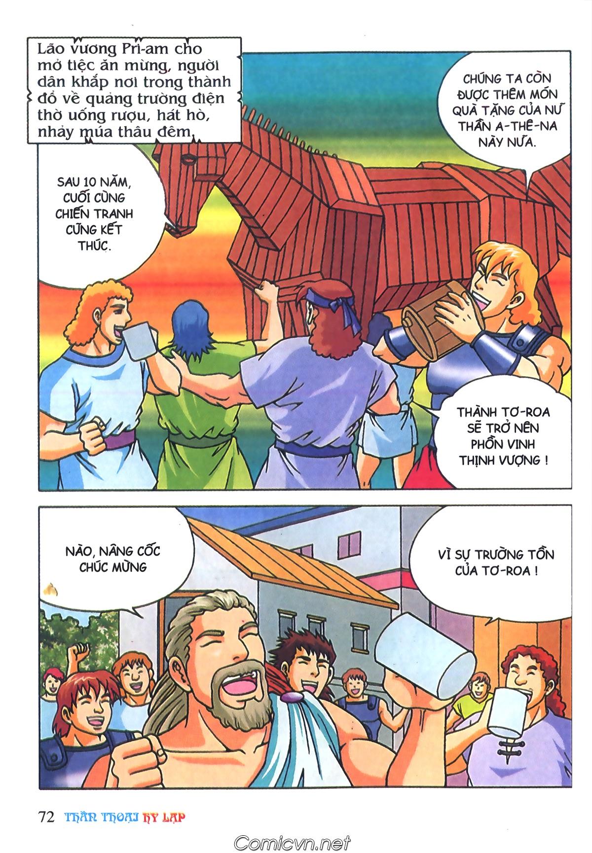 Thần Thoại Hy Lạp Màu - Chapter 69: Thành Troy thất thủ - Pic 2