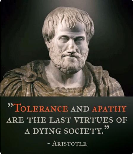 Image result for toleranz und apathie aristoteles