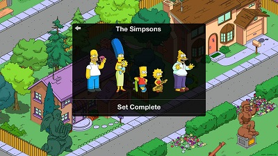 Download game android mod The Simpsons: Tapped Out apk