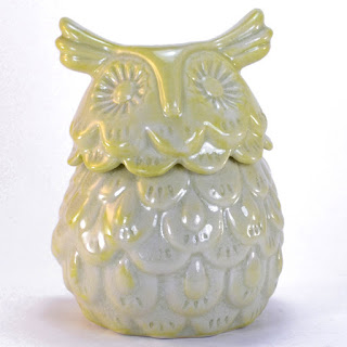 Celadon Owl Box from Dogwood Hill Gifts