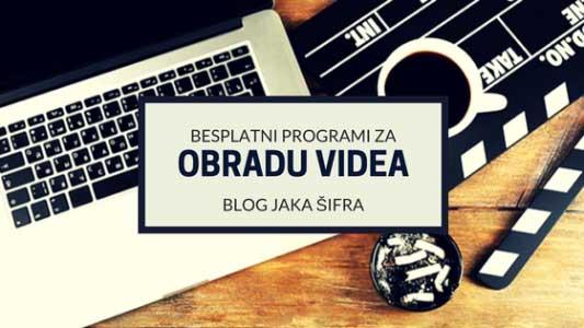 4 besplatna programa za obradu video snimaka