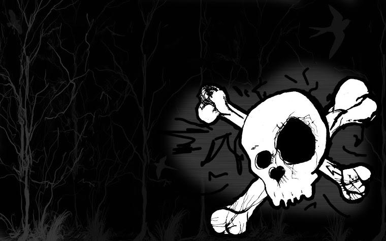 Skulls And Bones Wallpapers Just a wallpaper i did.