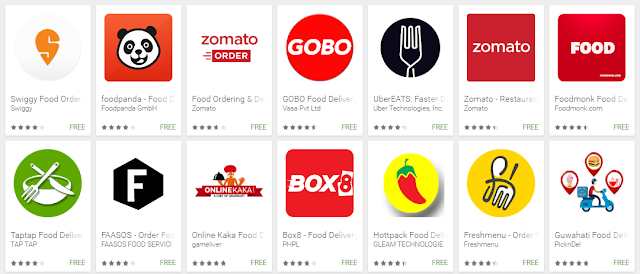 Food Delivery Apps - Youth Apps