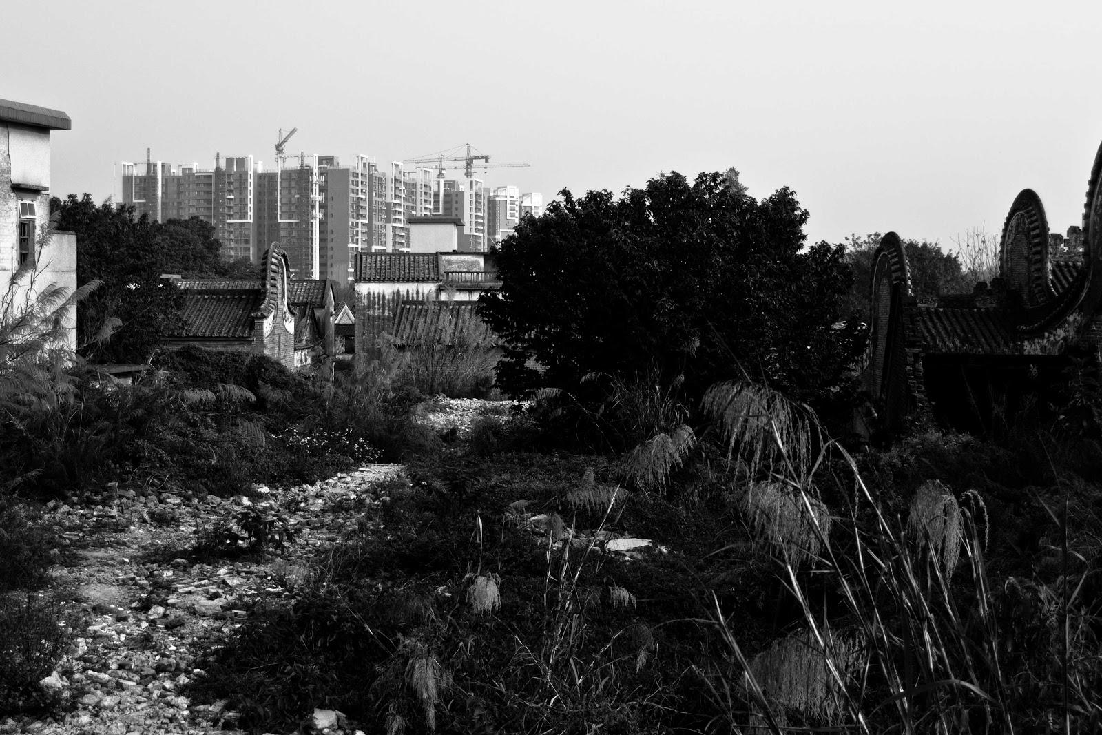 Villaggio abbandonato nei pressi di Guangzhou