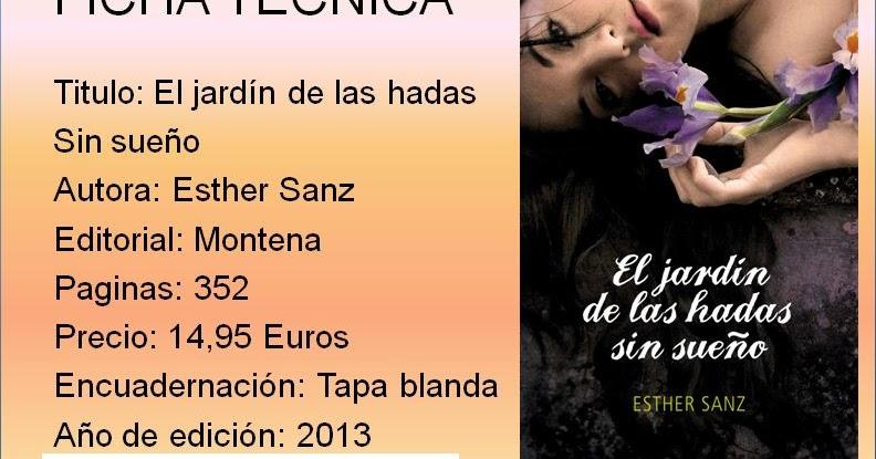 Entre Paginas: Reseña El jardín de las hadas sin sueño #2 ...