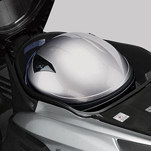 Under Seat Trunk Helm in Vario ESP 125cc Perfection