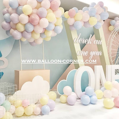 Balon Latex Macaron (NEW PRODUCT)