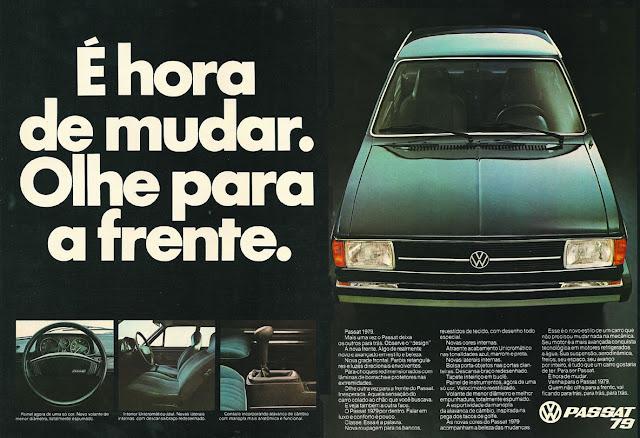 Campanha da Volkswagen para promover o Passat no final dos anos 70