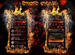 Download BBM MOD Fire Flame APK V3.0.0.18