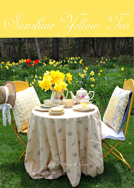 Aiken House Gardens Sunshine Yellow Garden Tea
