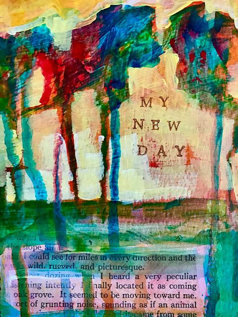 "Collage ""My New Day"""