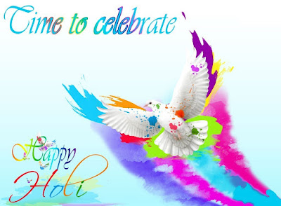 Happy holi wishes with friends
