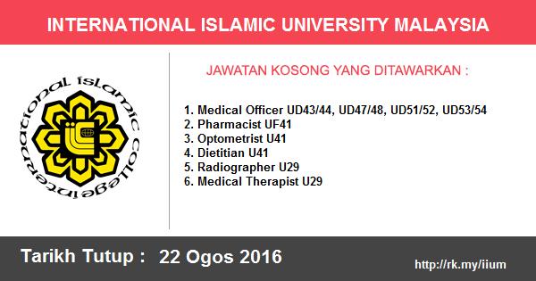 Jawatan Kosong di Universiti Islam Antarabangsa Malaysia
