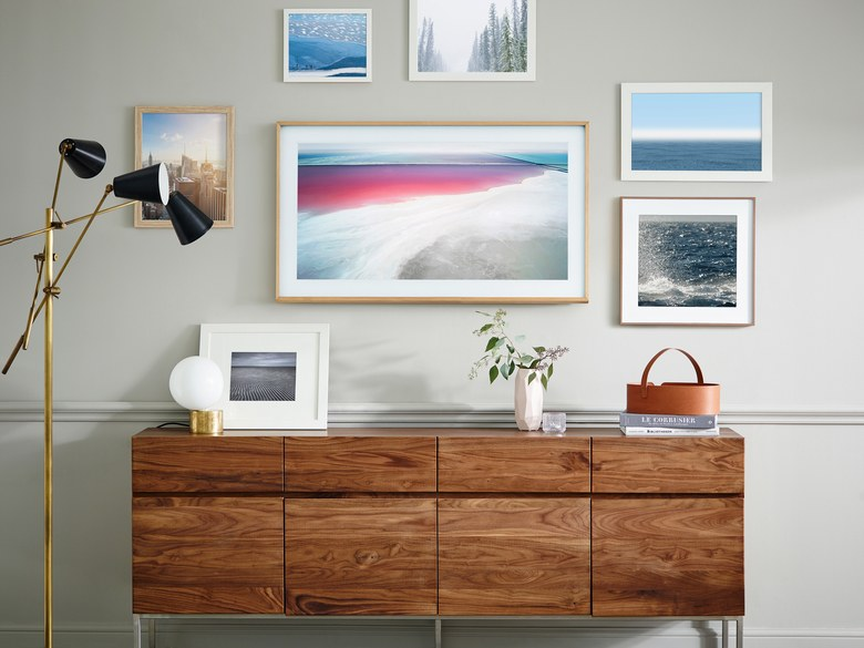 Samsung's The Frame is a television screen that looks just like art when it's off