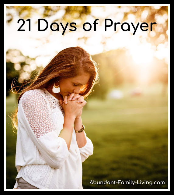 https://www.abundant-family-living.com/2016/01/21-days-of-prayer.html#.W9-r5OJRfIU